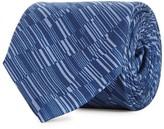 Pal Zileri Navy Printed Silk Tie