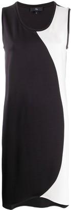 Fay Monochrome Mid-Length Dress