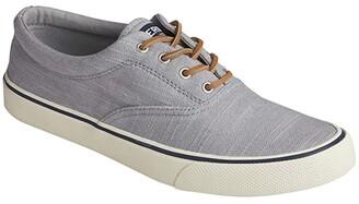Sperry Striper II CVO Baja Linen (Light Grey) Men's Shoes