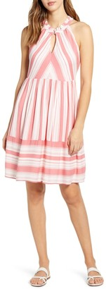 Gibson Cape May Stripe Dress
