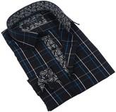 Coogi Tattersall Tailor Fit Dress Shirt