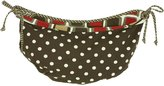 Cotton Tale Designs Houndstooth Toy Bag, 1-Pack