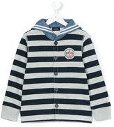 Diesel striped hoodie - kids - Cotton/Polyester - 2 yrs