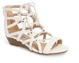 Steve Madden Girl's Tarrra Wedge Sandal