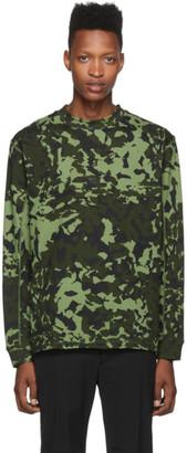 Nike Green MMW Edition NRG AOP Long Sleeve T-Shirt