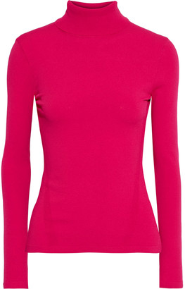 Diane von Furstenberg Jelena Ribbed And Stretch-knit Turtleneck Sweater
