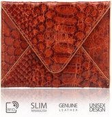 OTTO Leather Otto Genuine Leather Wallet - Multiple Slots |Money, ID, Tickets, Cards| Unisex