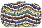 Corto Moltedo Susan Colored Stones Clutch