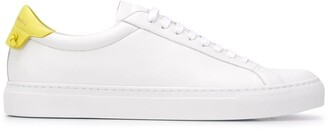Givenchy Contrast Heel Low-Top Sneakers