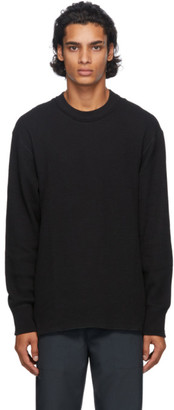 Nanamica Black Thermal T-Shirt