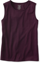 L.L. Bean Pima Cotton Tee, Sleeveless Shell