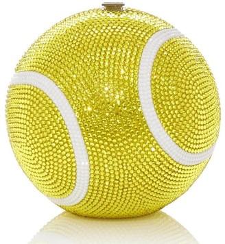 Judith Leiber Tennis Ball sphere-shaped clutch