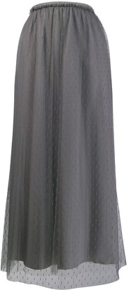 RED Valentino tulle layered long skirt