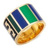 Tory Burch Women's Geo Stripe Ring