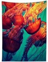 Deny Designs Krista Glavich Jellyfish 7 Tapestry