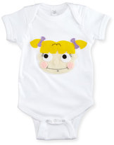Mi Cielo Angelica Pickles Jersey Playsuit, White, Size 6-18 Months
