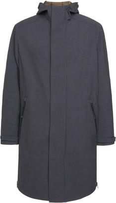 Prada Hooded Shell Raincoat