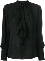 Etro - ruffled front blouse