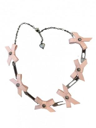 Agent Provocateur Pink Steel Necklaces