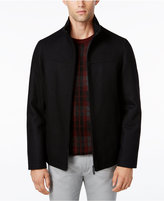 Perry Ellis Men's Big & Tall Full-Zip Stand-Collar Coat