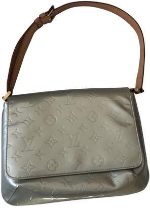 Louis Vuitton Thompson Silver Patent leather Handbags