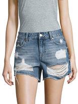Vigoss Distressed Cutoff Denim Shorts