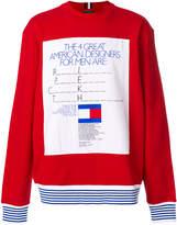Tommy Hilfiger George Lois ad sweatshirt