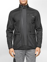 Calvin Klein Performance Hidden Hood Zip Front Jacket