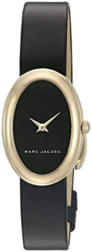 Marc Jacobs Women's Cicely Black Leather Watch - MJ1454