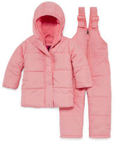 Weatherproof Heavyweight Snow Suit-Baby Girls