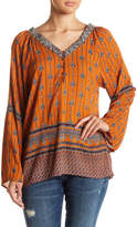 Angie Bell Sleeve Blouse