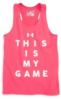 Under Armour Girl's My Game Heatgear Tank