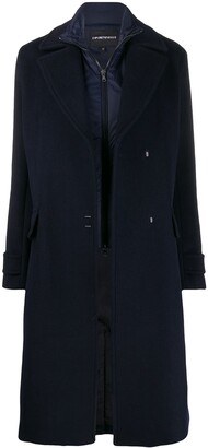 Emporio Armani Oversized Wool Coat