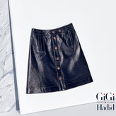 Tommy Hilfiger Leather Mini Skirt Gigi Hadid