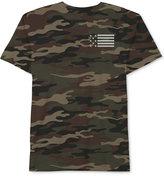 JEM Men's American Flag Camo T-Shirt