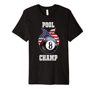 Pool' Womens Pool Champ Jersey | Gift for Bar Pub Players & Teams Premium T-Shirt