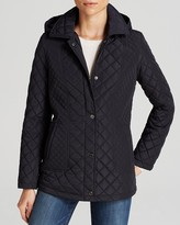 Calvin Klein Coat - Quilted Snap Close