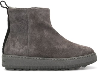 Philippe Model Paris smooth ankle boots