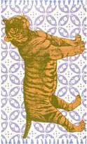 Thomas Paul Tiger Cotton Rug