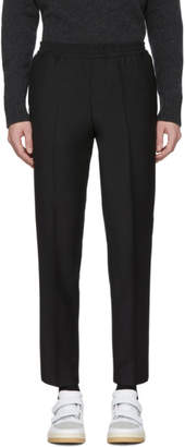 Harmony Black Wool Paolo Trousers