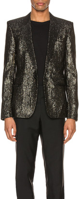 Saint Laurent Suit Jacket in Black | FWRD