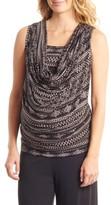 Everly Grey Women's 'Carla' Drape Maternity Top
