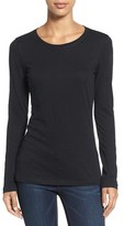 Women's Caslon Long Sleeve Slub Knit Tee