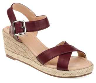 Journee Collection Dryden Espadrille Wedge Sandal