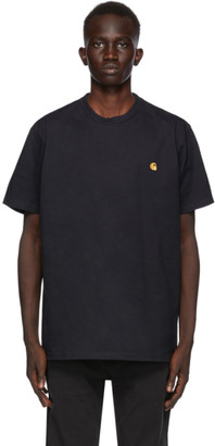 Carhartt Work In Progress Navy Chase T-Shirt