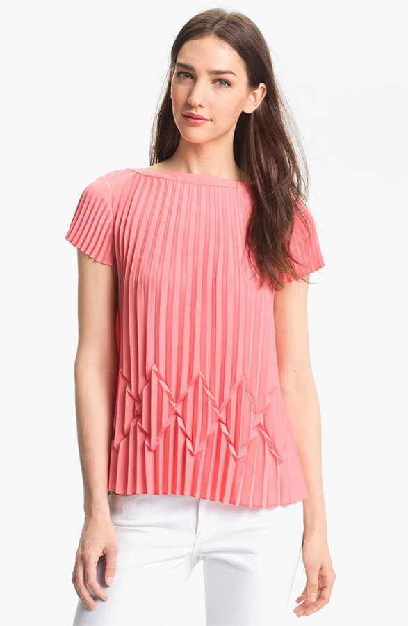 Ted Baker Pleated Top