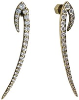 Nicole Miller Antler Long Earrings