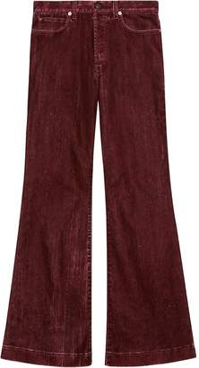 Gucci Flared High-Waisted Jeans