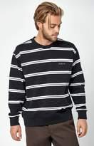 Obey Turner Striped Crew Neck Sweatshirt