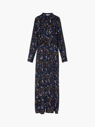Gerard Darel Selia Tunic Style Shirt Dress, Blue